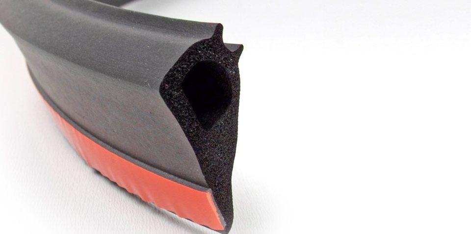 2dea17d616e Productos de Caucho Industrial con Perfiles Adhesivos